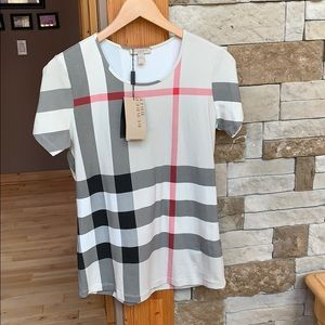 Authentic Burberry Shirt NWT Size Large Women's